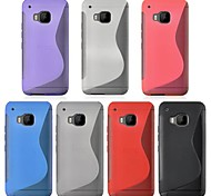 Angibabe S Pattern Clear TPU Phone Case Cover For HTC One M9(Assorted Colors)