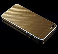 de comprimento total do corpo de fibra de carbono adesivo para iPhone 5 / 5s (cores sortidas)