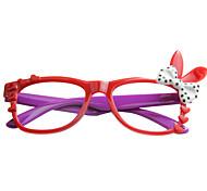 [Frame Only] Women's Rabbit Full-Rim Eyeglasses(Random Color)