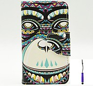 The Gorilla Pattern PU Leather Case Cover with A Touch Pen ,Stand and Card Holder for Nokia Lumia 530