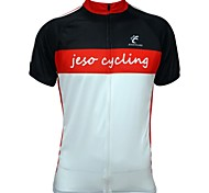 Jesocycling® Men's Spring And Summer Breathable Short Sleeve Cycling Jerseys