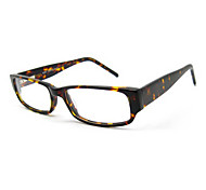 [Free Lenses] Acetate Rectangle Full-Rim Fashion Prescription Eyeglasses