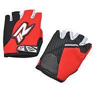 Outdoor Cycling Breathable Anti-Slip Half Finger Gloves (Free Size)