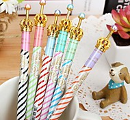 Cute Metal Gel Pens(Rondom Color)