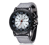 Fashion Casual Silicone Men Watch Sport Big Number Quartz Wristwatch(Assorted Colors)