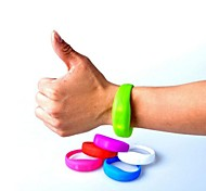 1 Piece Silicone Led Motion Activated Bracelet Bangle for Concert Party Club
