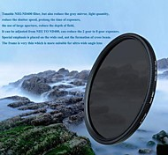 TIANYA 40.5mm Ultra Slim Super DMC Fader ND Filter Adjustable ND2 to ND400 for Sony A6000 A5100 A5000 NEX-5T NEX5R 16-50