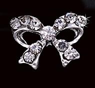 10pcs/Set Glitting Rhinestone Bow Tie DIY Alloy Accessories For Finger Tips Nail Art Decoration
