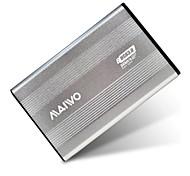 "MAIWO 2.5"" USB 3.0 SATA External Hard Drive HDD Enclosure-Silver K2501AU3S"