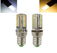 Ampoule Maïs Blanc Chaud/Blanc Froid ding yao 1 pièce E14 7 W 64 SMD 3014 1536 LM AC 100-240 V