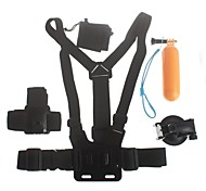 fotocamera digitale kit sport all'aria aperta per GoPro eroe 4/3 + / 3/2/1 / sj4000 / sj5000 / sj6000 gp323 1 4-in-