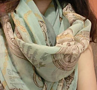 Women's New Spring Voile Scarves