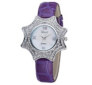 Women's Bracelet Watch Quartz Analog Vintage Unique Star Case