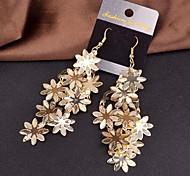 2015 Fashion Multi-Level Snow Flower Lady Earrings