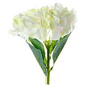 pequeña rosa y blanco hortensias países bajos flores artificiales conjunto 3