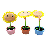 1.5W Sunflower Cartoon Student`s Learning LED Small Table Lamp 220V (Assorted Colors)