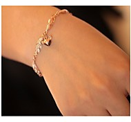 Exquisite High-grade Diamond Small Fox Hollow Bracelet