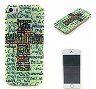 Jesus Love Pattern Super Thin Soft Back Case for iPhone 5/5S