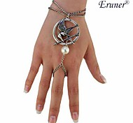 Eruner® New Arrival European And American Popular Hunger Games LOGO Mock Bird Bracelet