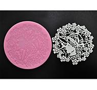 Four-C поставок выпечки сладкий кружева коврик силиконовые формы для торта решений, силиконовая подкладка помады торт инструменты цвет
