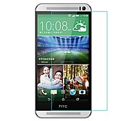 HUYSHE Easy Install Anti Scratch Water Proof Anti-Fingerprint Tempered Glass Screen Protector for HTC One M8