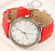 Women's Wild Concise Fashion Trend Casual Watches