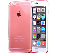 Solid Color Transparent Ultra Slim TPU for iPhone 6 (Assorted Colors)