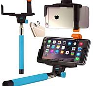 De draadloze Bluetooth Remote shutter-stick met mount klem en lens beschermende sticker voor iPhone 6 (assorti kleur)