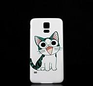 Samsung S5 I9600 - Задняя панель - Графический/Специальный дизайн - Мобильный телефон Samsung Пластик )