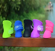 Second-Generation Environmentally Friendly Silicone Rubber Boots for Pet Dogs