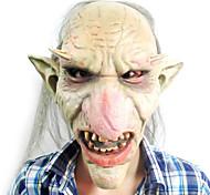 goblins com nariz e orelhas grandes máscara de látex para a festa de halloween