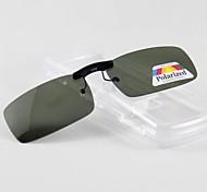 Rectangle Polarized Clip-on Sunglasses Lenses H03
