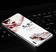 Fashion Painted Holding Hands PC Back Cover for Huawei Honor 6 Plus