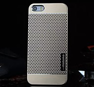 iPhone 5/iPhone 5S - Rückseiten Cover Golden/Silber , Metall )