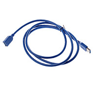 1.5 Meter USB 3.0 AM-F High Speed Extension Cable Data Transmission