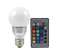 Bombillas Globo Control Remoto ding yao E26/E27 10 W 3 72 LM Color Cambiante AC 100-240 V 1 pieza