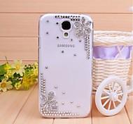 Samsung S4 I9500 - Custodie per retro - Trasparente - Cellulari Samsung ( Bianco , Plastica )