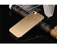 iPhone 5S - Rückseiten Cover - metallisch (Verschiedene Farben , Polycarbonat/Metall)