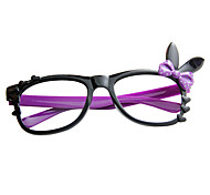 [Frame Only] Women's Rabbit Full-Rim Eyeglasses(Random Color)
