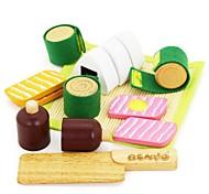 madera de caucho benho comida japonesa establece papel que juega el juguete de madera