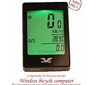 YS Multifunction Touch Screen Backlight Wireless Waterproof Bicycle Computer Odometer Bike Speedometer Clock Stopwatch