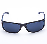 Cycling Men's 100% UV Plastic Rectangle Fashion Sports Glasses