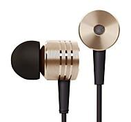 Xiaomi fone de ouvido pistão headphone headset com microfone para celular iphone