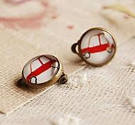 The Old Car Clip Earrings