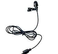 High Definition Professional Flexible Hands Free Clip On Mini Microphone for GoPro Hero3 /3+/4