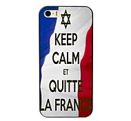 mantenha a calma et caso duro projeto quitte la france para iPhone 4 / 4S