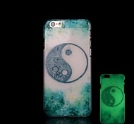 Totem Pattern Glow in the Dark Hard Case for iPhone 6