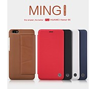 NILLKIN MIM Series Protective PU Leather and PC Flip Open Case with Stand for HUAWEI Honor 4X (Assorted Colors)