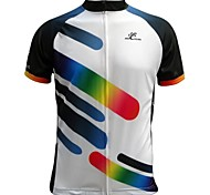 Jesocycling® Men's Spring & Summer 100% Polyester Short Sleeve Cycling Jersey