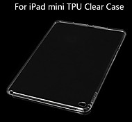 BIG D TPU Clear Soft Back Case for iPad mini 3/iPad mini/iPad mini 2 (Assorted Color)